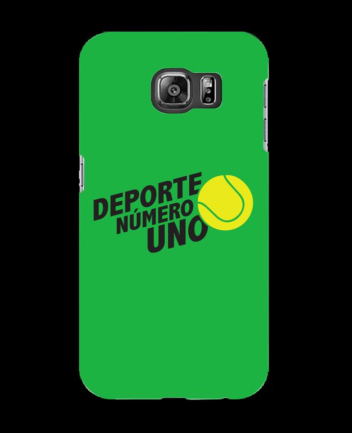 Carcasa Samsung Galaxy S6 Deporte Número Uno Tennis - tunetoo