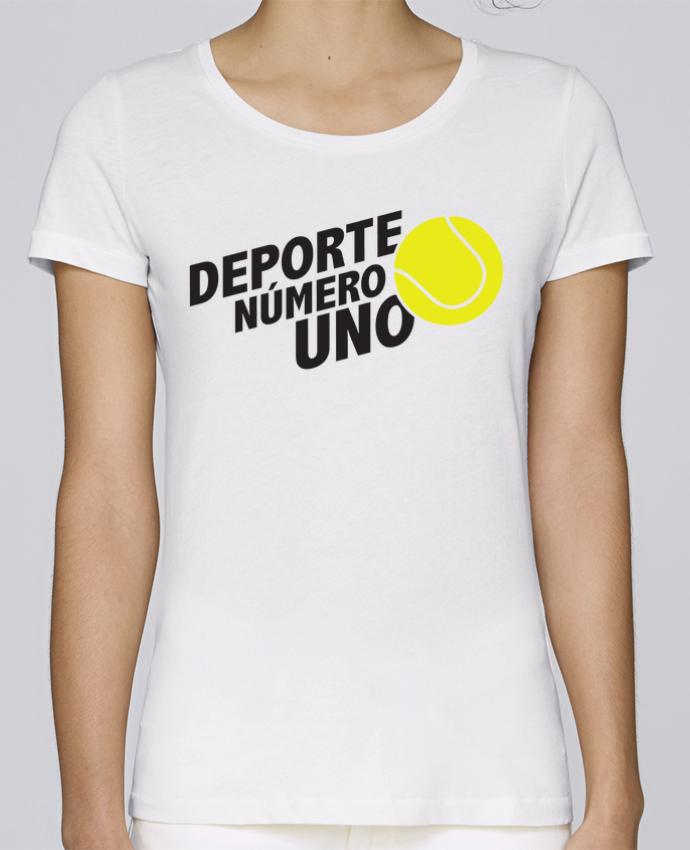 Camiseta Mujer Stellla Loves Deporte Número Uno Tennis por tunetoo