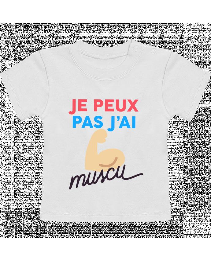 Camiseta Bebé Manga Corta je peux pas j'ai muscu manches courtes du designer Ruuud