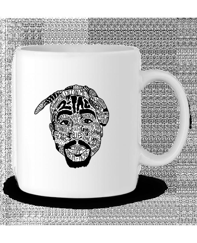 Taza Cerámica Tupac por Nick cocozza