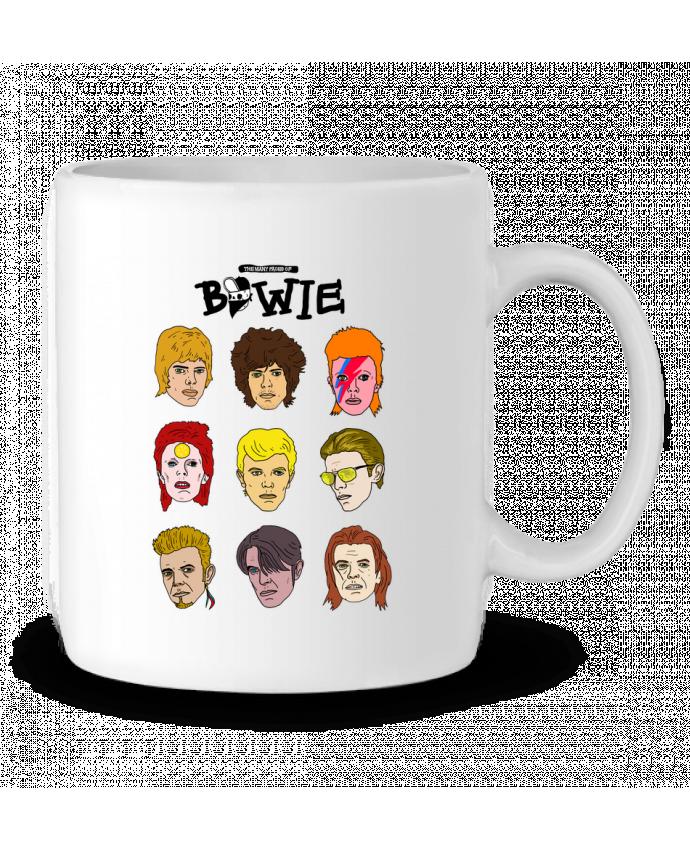 Taza Cerámica Bowie por Nick cocozza