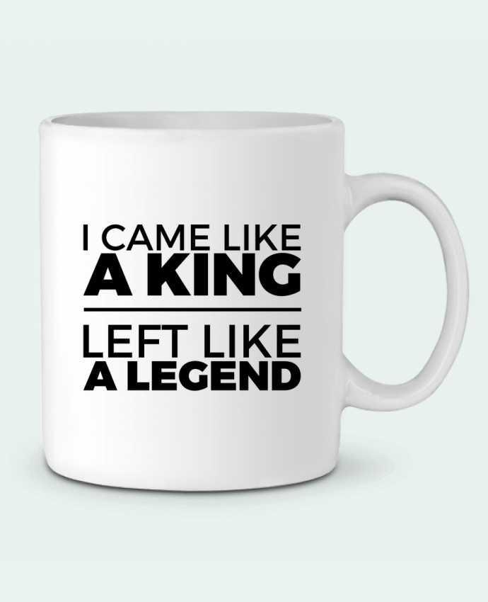 Taza Cerámica I came like a king II por tunetoo