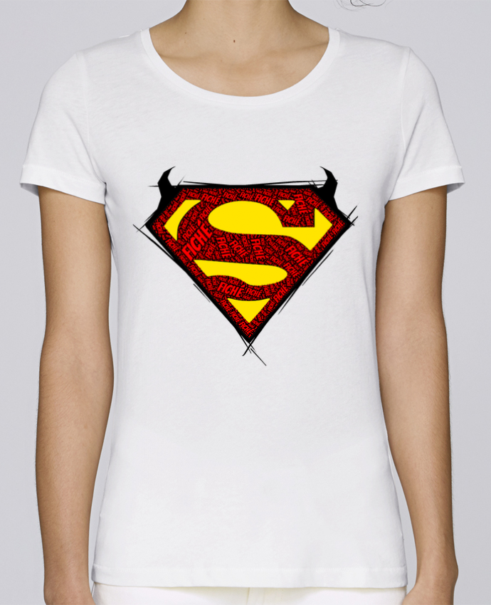 Camiseta Mujer Stellla Loves Super Fiché por Dontuch