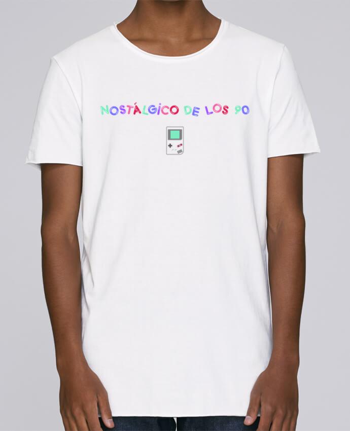 Camiseta Hombre Tallas Grandes Stanly Skates Nostálgico de los 90s Gameboy por tunetoo