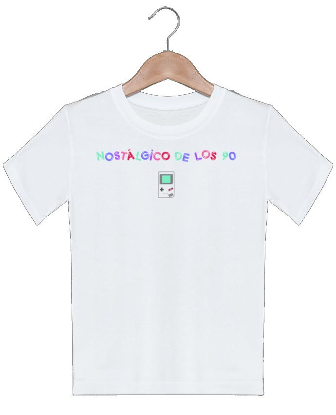 T-shirt garçon motif Nostálgico de los 90s Gameboy tunetoo