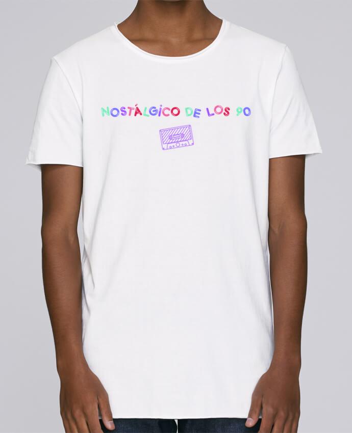 Camiseta Hombre Tallas Grandes Stanly Skates Nostálgico de los 90 Casete por tunetoo