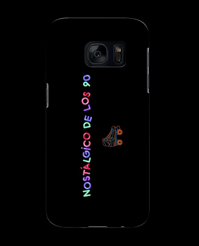 Carcasa Samsung Galaxy S7 Nostálgico de los 90 Patines por tunetoo