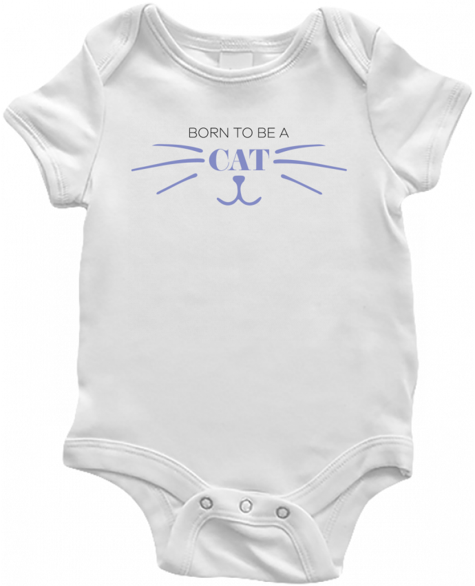 Body Bebé Born to be a cat por tunetoo