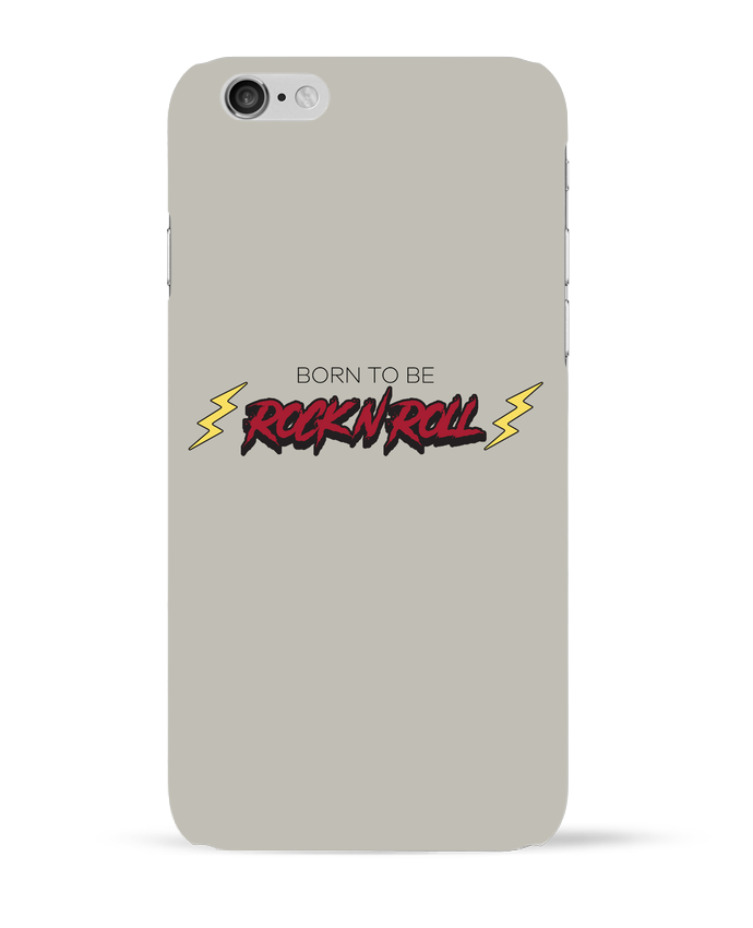 Carcasa  Iphone 6 Born to be rock n roll por tunetoo