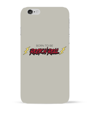 Carcasa 3D Iphone 6  Born to be rock n roll por tunetoo