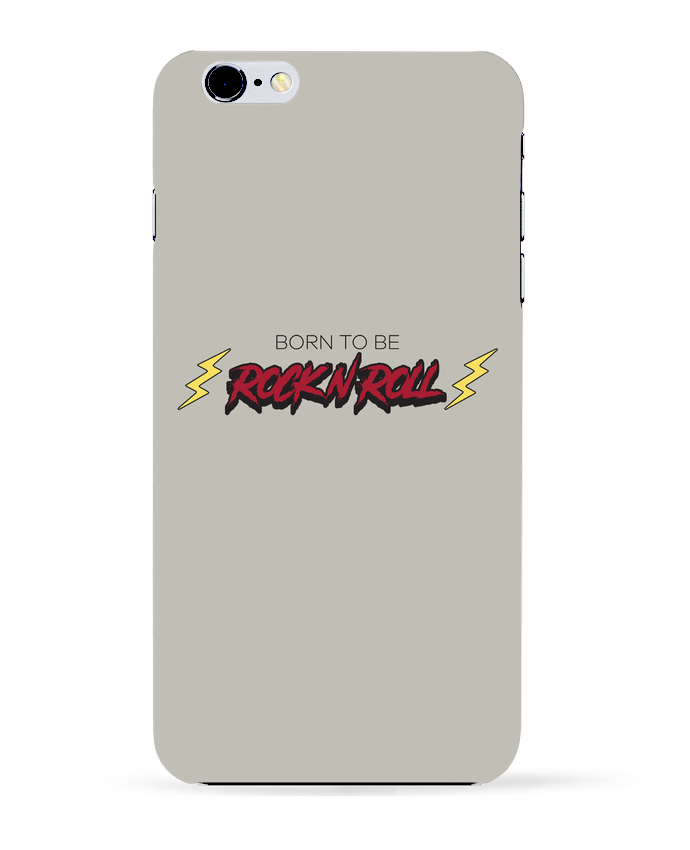 Carcasa Iphone 6+ Born to be rock n roll de tunetoo