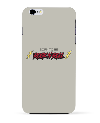 Carcasa 3D Iphone 6+ Born to be rock n roll de tunetoo