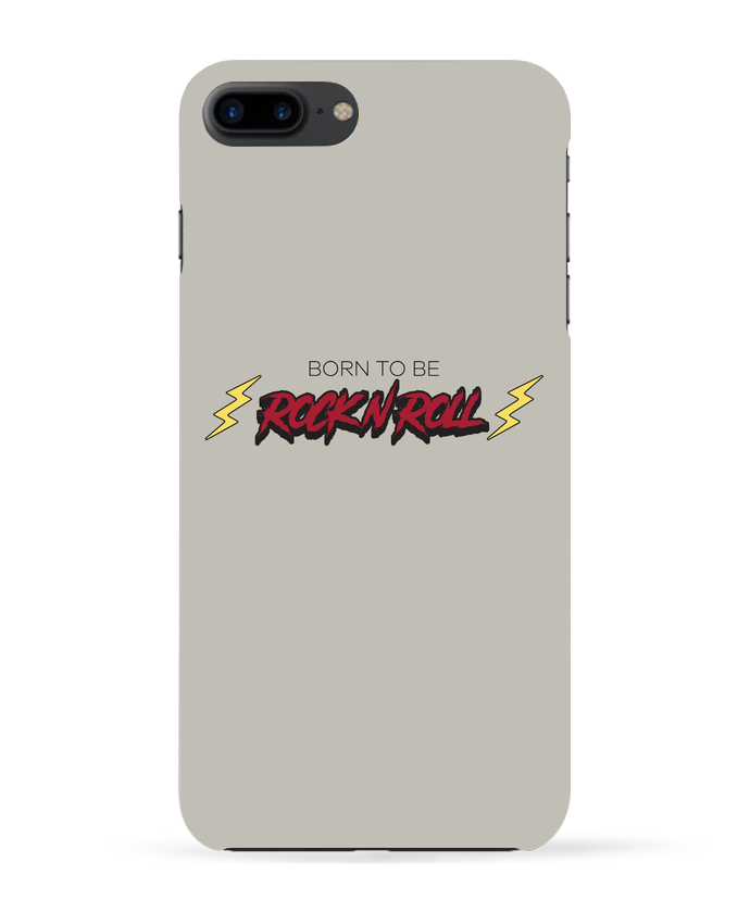 Carcasa Iphone 7+ Born to be rock n roll por tunetoo