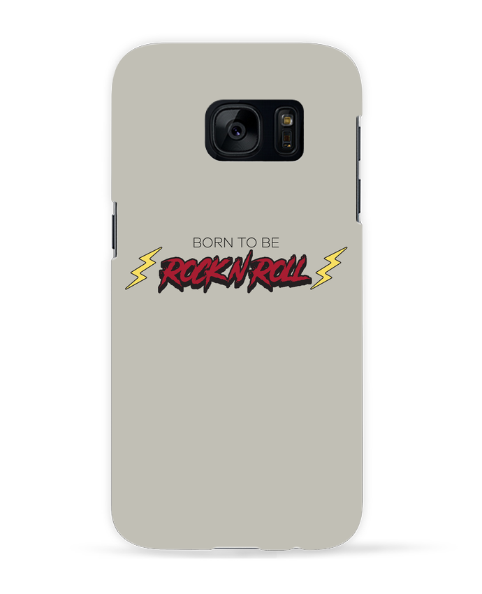 Carcasa Samsung Galaxy S7 Born to be rock n roll por tunetoo