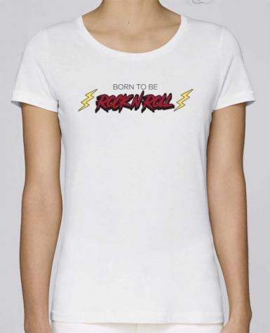 Camiseta Mujer Stellla Loves Born to be rock n roll por tunetoo