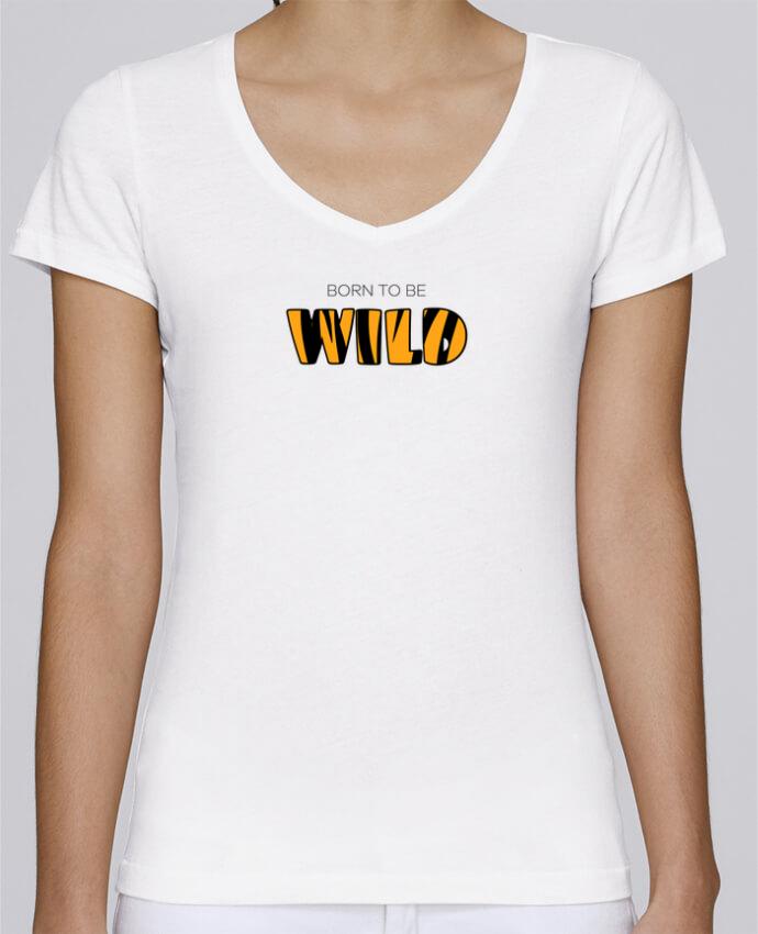 Born Be Cuello Mujer Por Tunetoo Chooses En Camiseta Stella To V Wild HD9WIE2Y