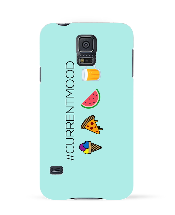 Carcasa Samsung Galaxy S5 #Currentmood por tunetoo