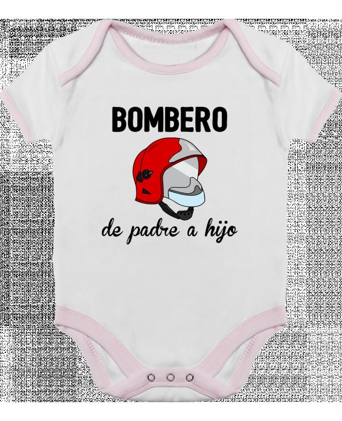 Body Bebé Contraste Bombero de padre a hijo por tunetoo