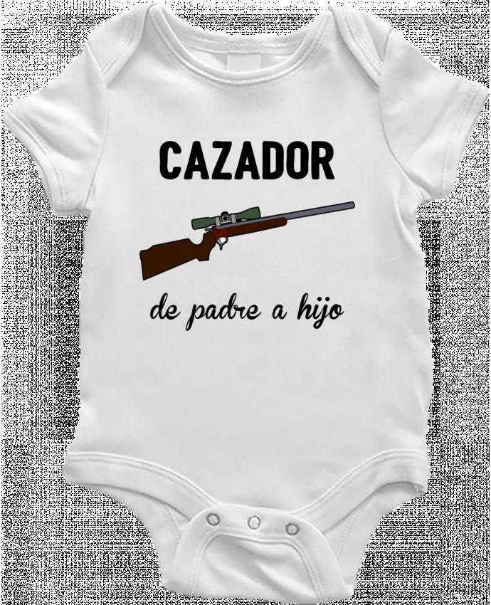 Body Bebé Cazador de padre a hijo por tunetoo
