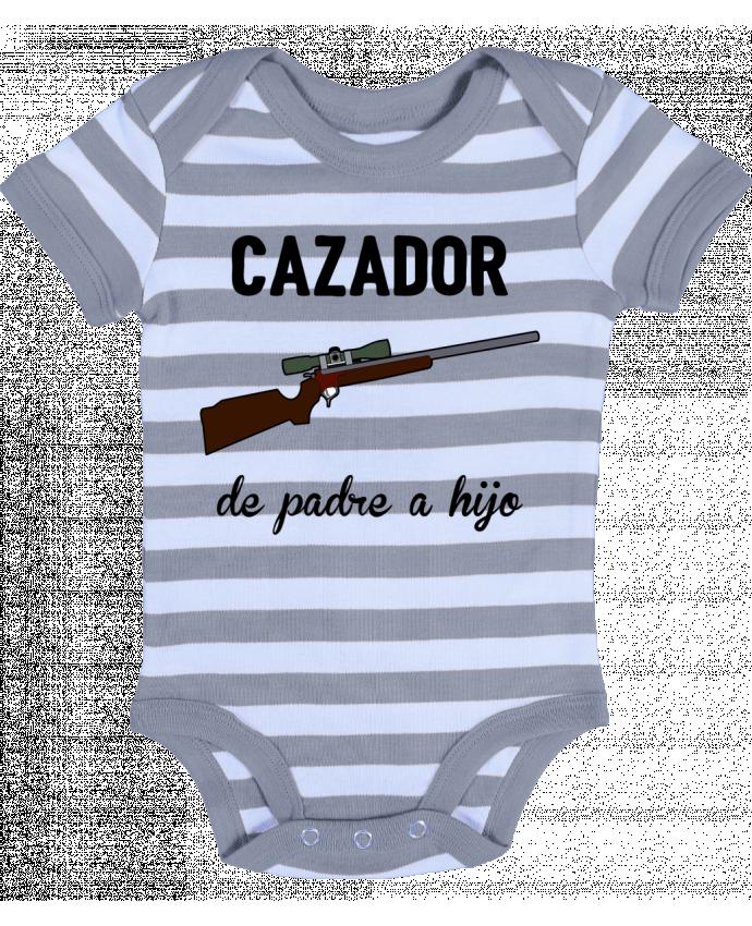 Body Bebé a Rayas Cazador de padre a hijo - tunetoo