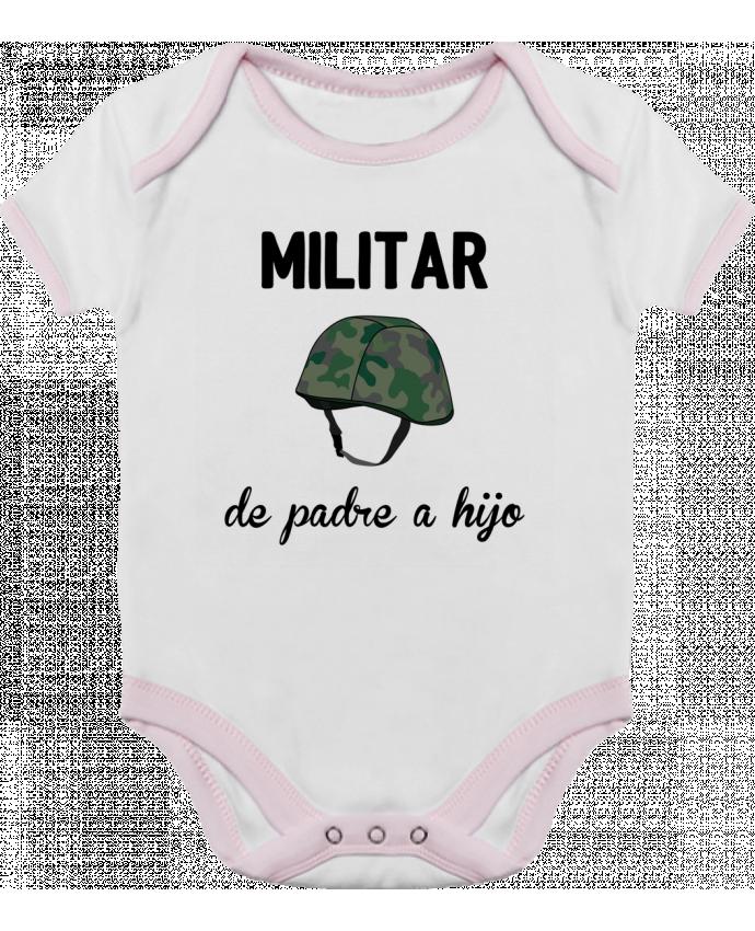 Body Bebé Contraste Militar de padre a hijo por tunetoo