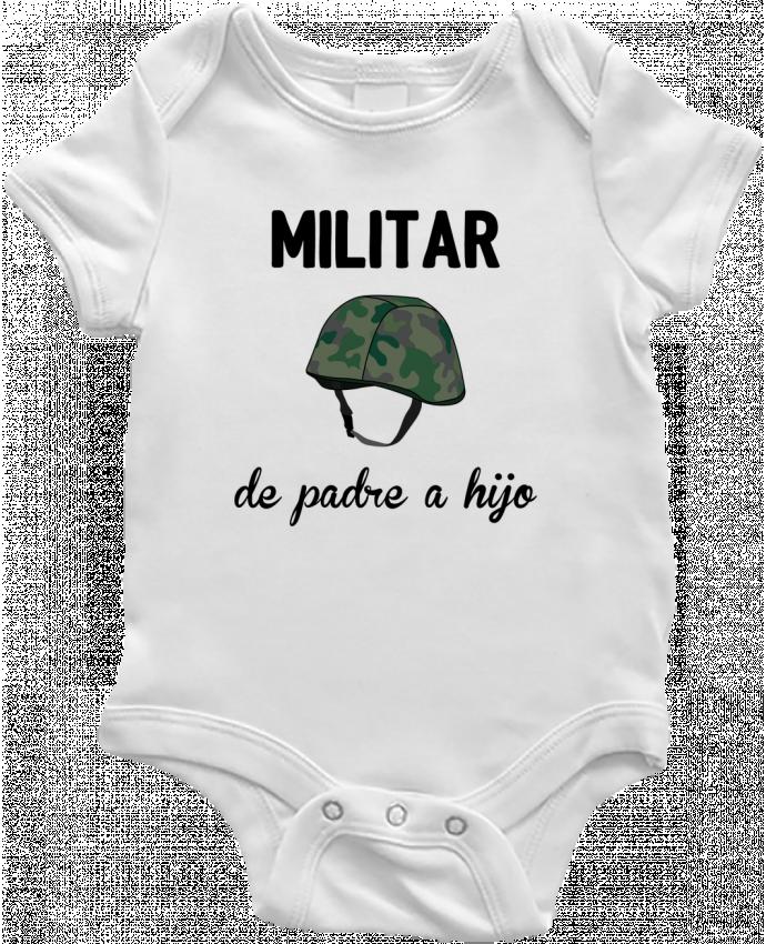 Body Bebé Militar de padre a hijo por tunetoo