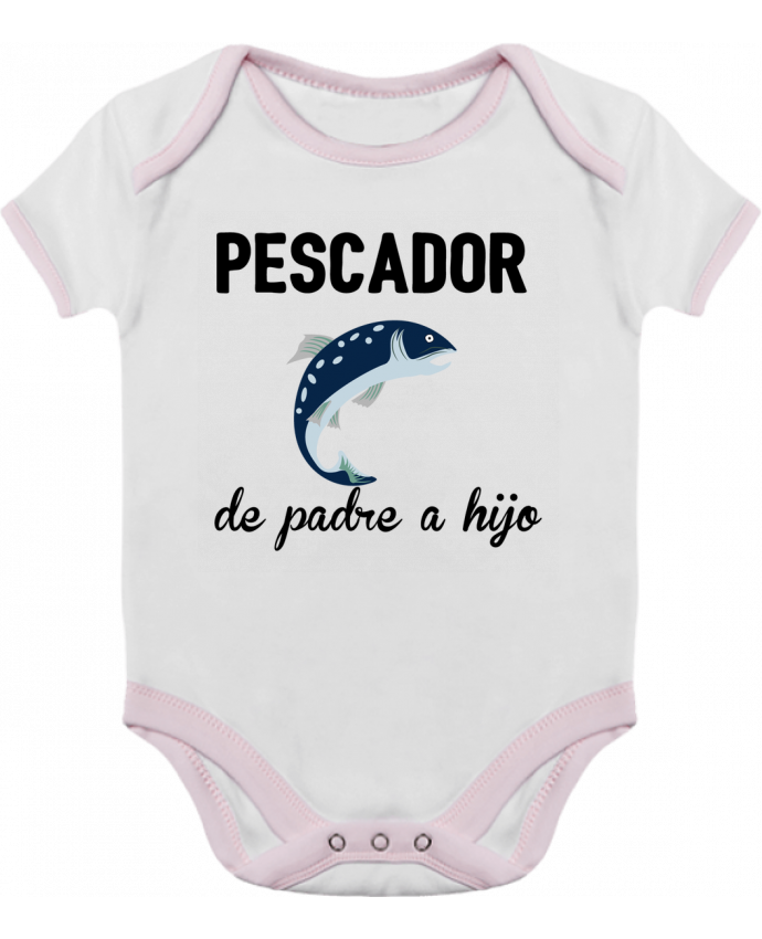 Body Bebé Contraste Pescador de padre a hijo por tunetoo