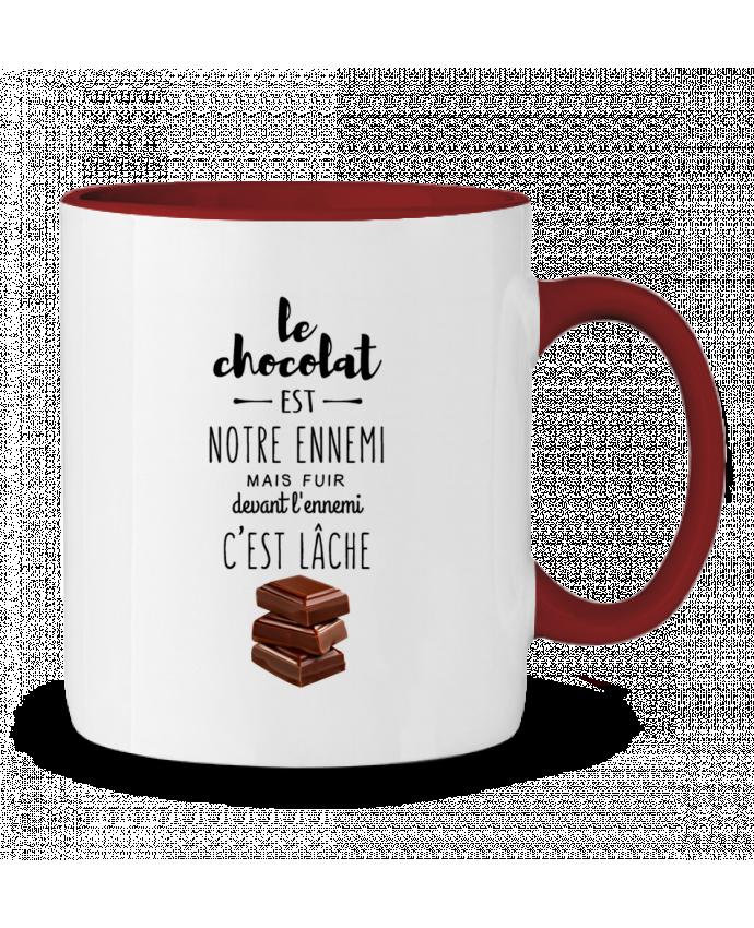 Taza Cerámica Bicolor chocolat DesignMe