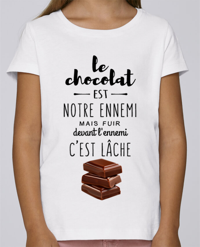 Camiseta Niña Stella Draws chocolat por DesignMe