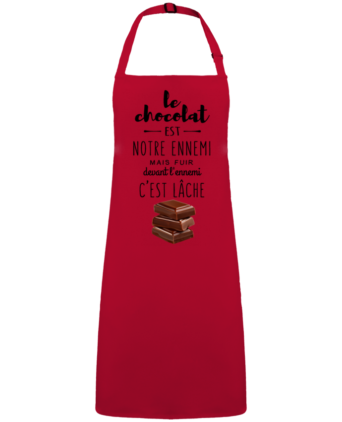 Delantal Sin Bolsillo chocolat por  DesignMe