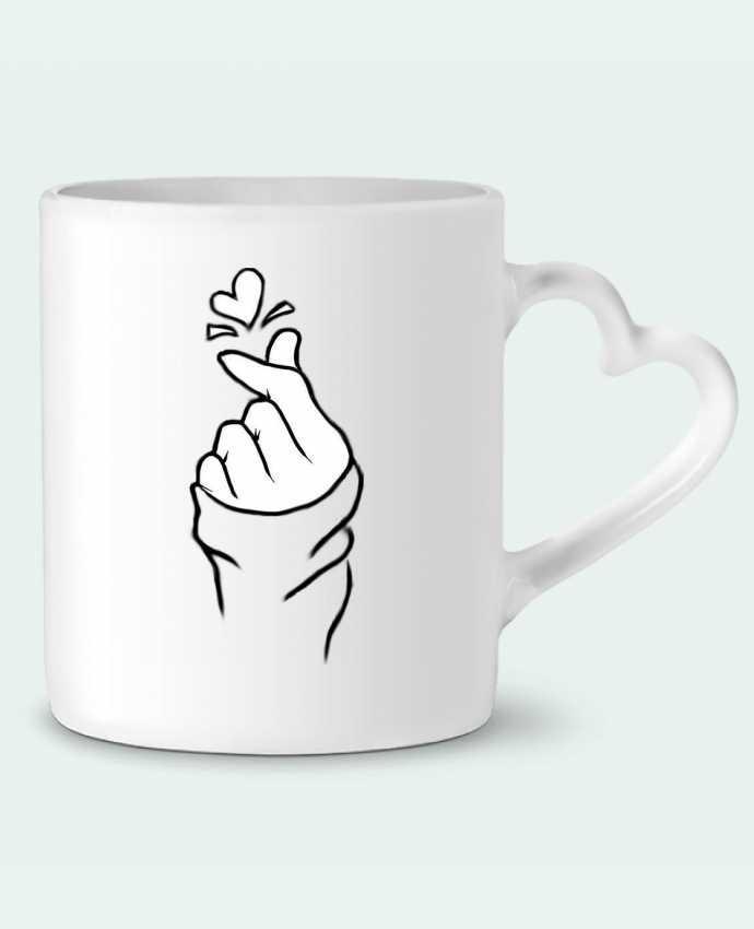 Taza Corazón love por DesignMe