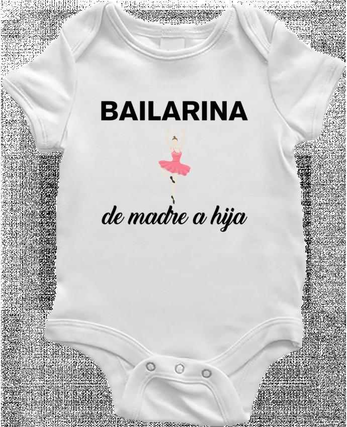 Body Bebé Bailarina de madre a hijo por tunetoo