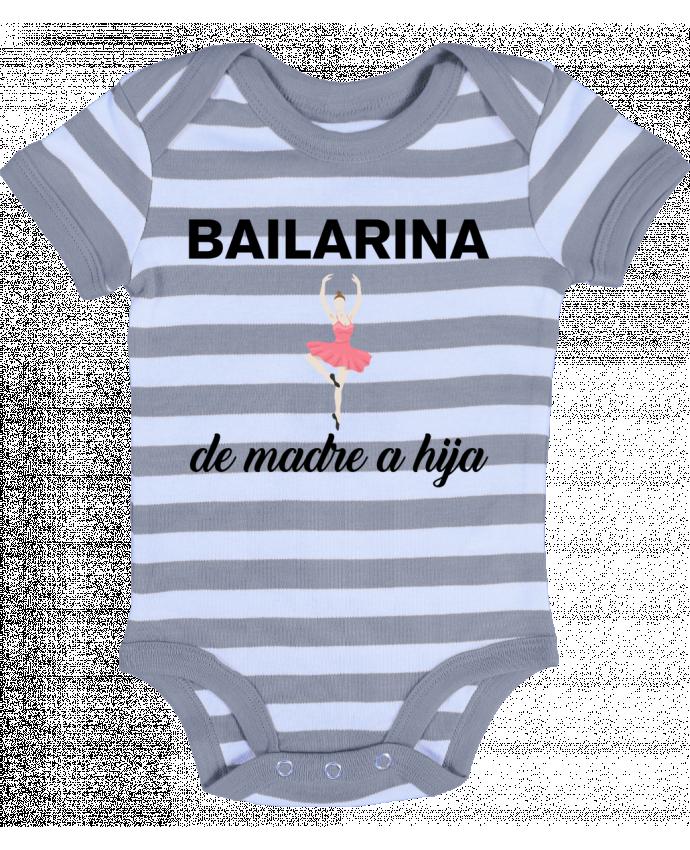 Body Bebé a Rayas Bailarina de madre a hijo - tunetoo