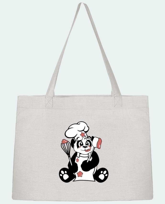 Bolsa de Tela Stanley Stella Panda Pot'Chef por CoeurDeChoux