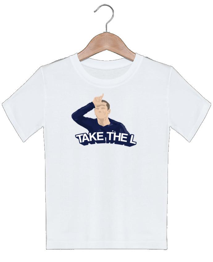 T-shirt garçon motif Griezmann célébration fortnite tunetoo