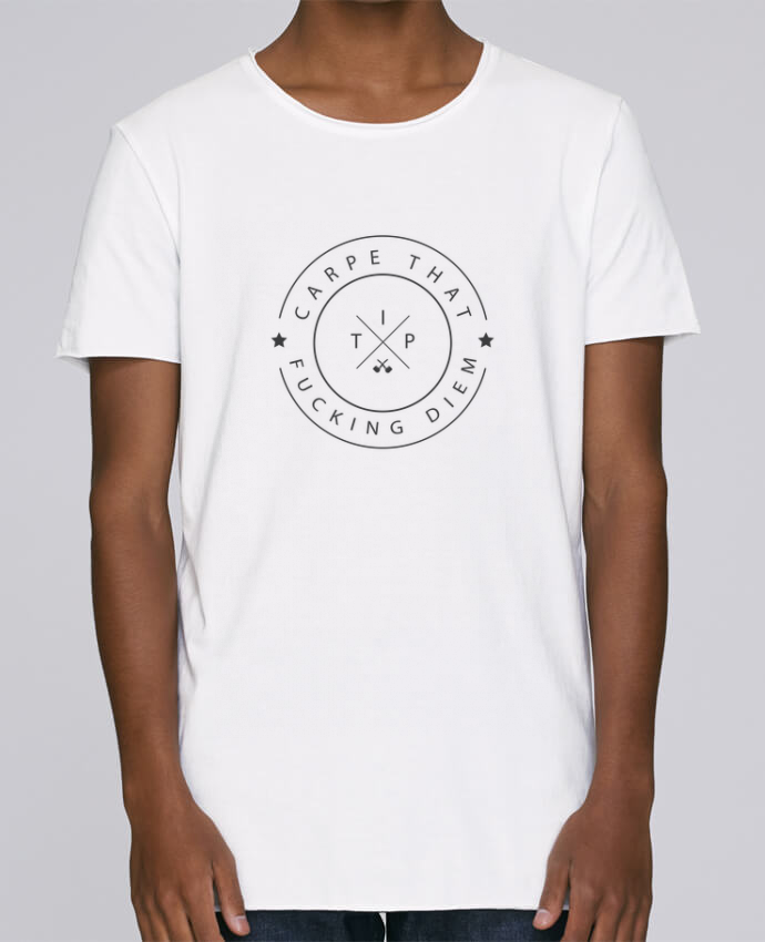 Camiseta Hombre Tallas Grandes Stanly Skates Carpe that fucking diem por justsayin