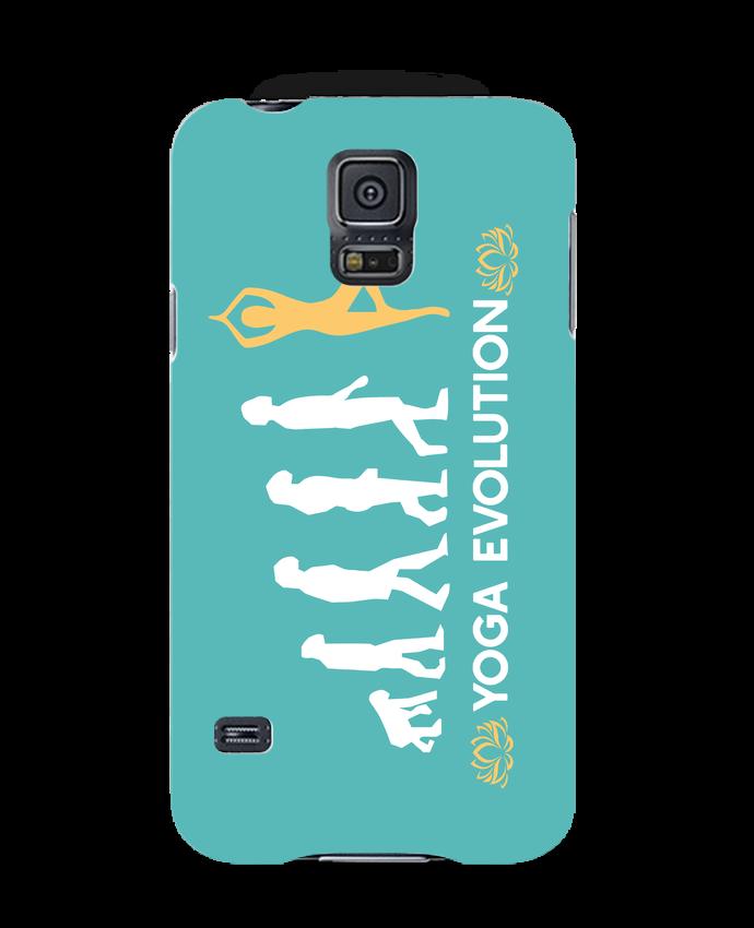 Carcasa Samsung Galaxy S5 Yoga evolution por Original t-shirt