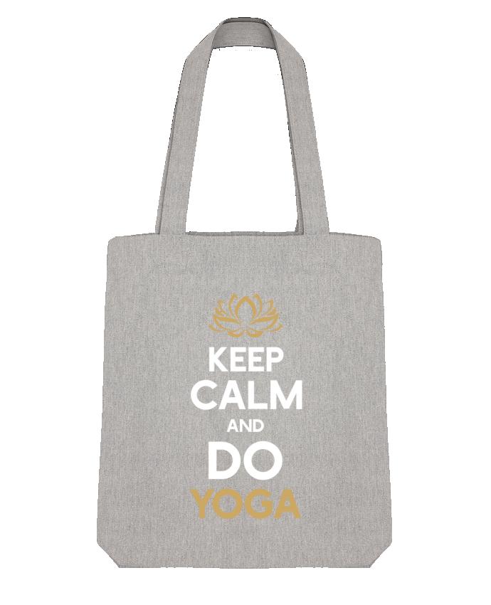 Bolsa de Tela Stanley Stella Keep calm Yoga por Original t-shirt