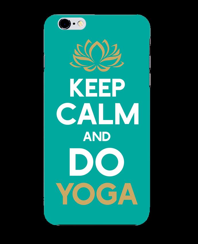 Carcasa Iphone 6+ Keep calm Yoga de Original t-shirt