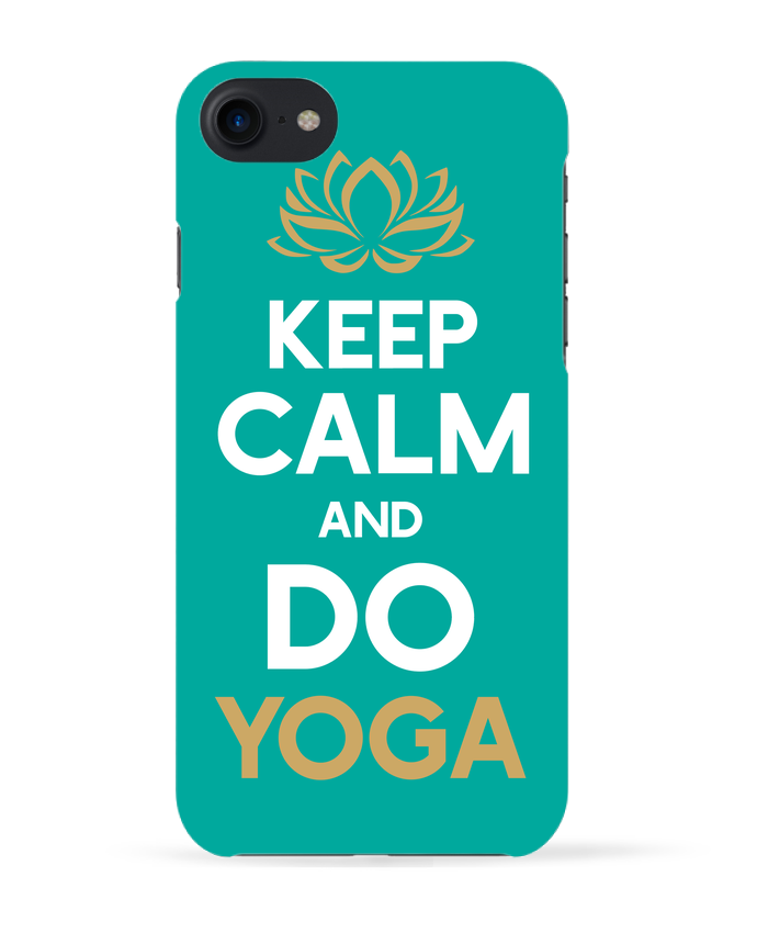 Carcasa Iphone 7 Keep calm Yoga de Original t-shirt
