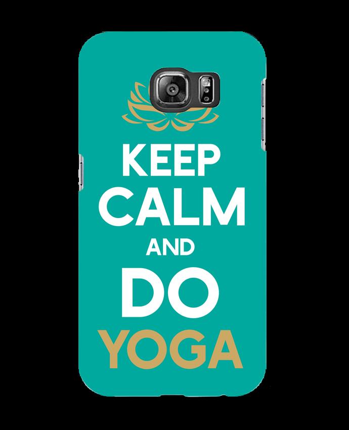 Carcasa Samsung Galaxy S6 Keep calm Yoga - Original t-shirt