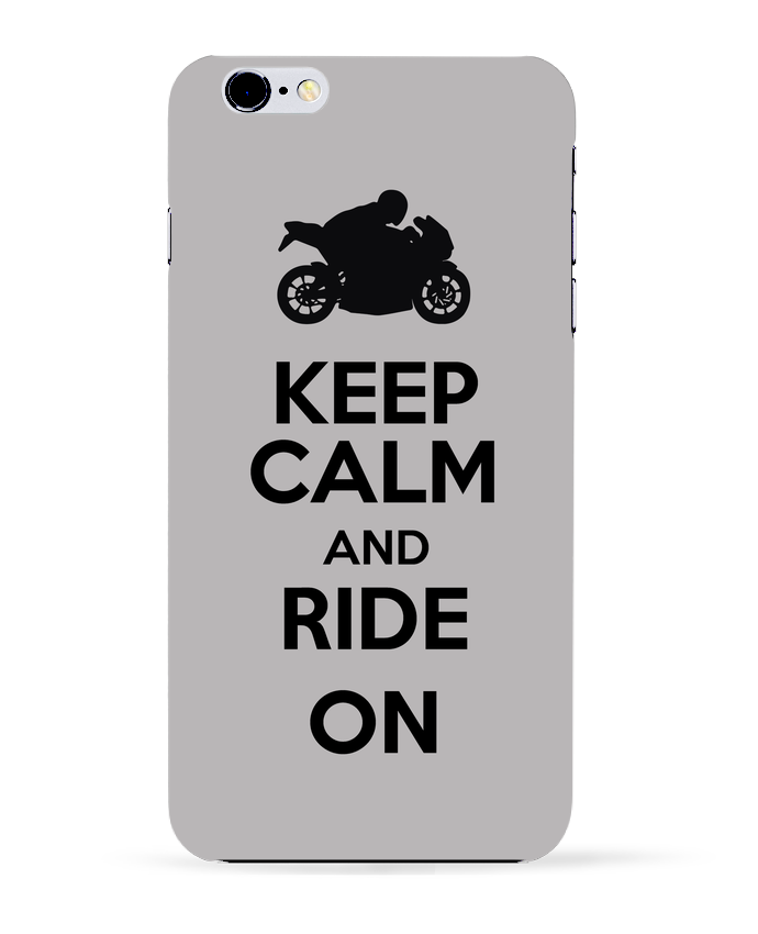 Carcasa Iphone 6+ Keep calm Moto de Original t-shirt