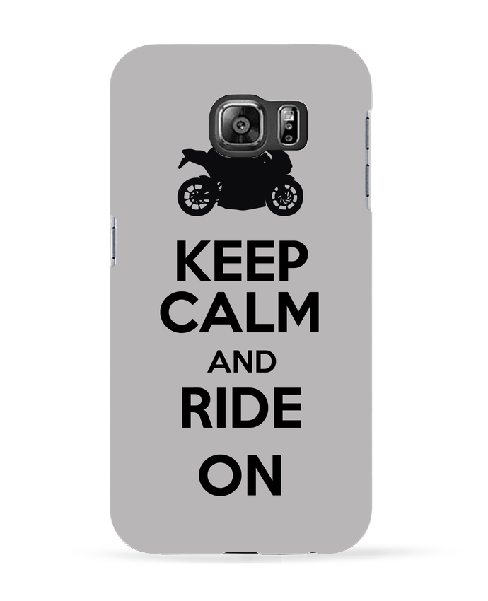 Carcasa Samsung Galaxy S6 Keep calm Moto - Original t-shirt