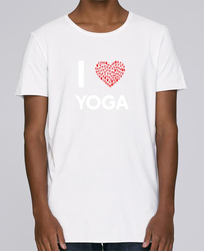 Camiseta Hombre Tallas Grandes Stanly Skates I Love Yoga por Original t-shirt