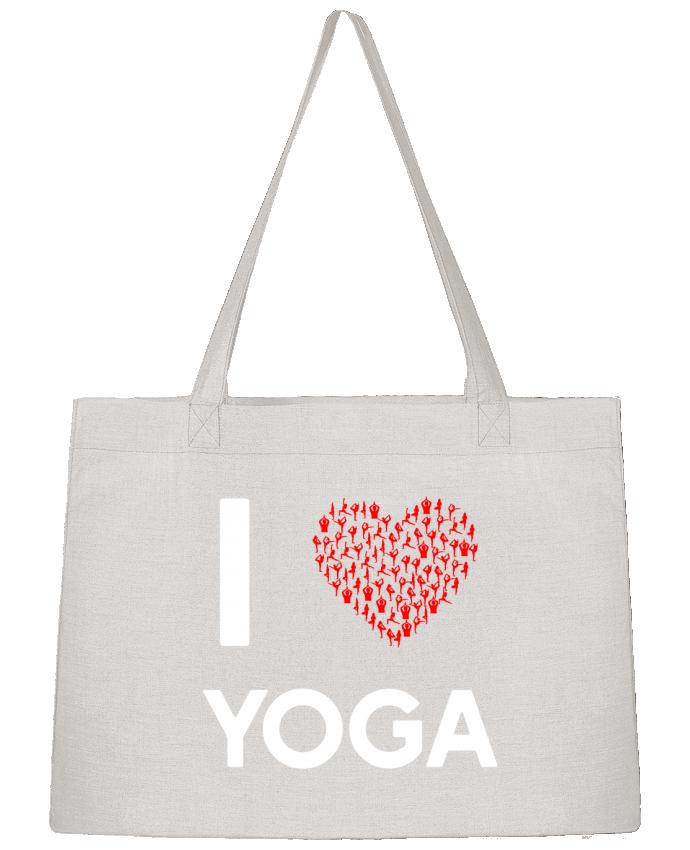 Bolsa de Tela Stanley Stella I Love Yoga por Original t-shirt