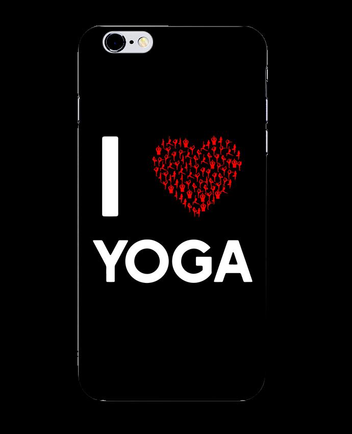 Carcasa Iphone 6+ I Love Yoga de Original t-shirt