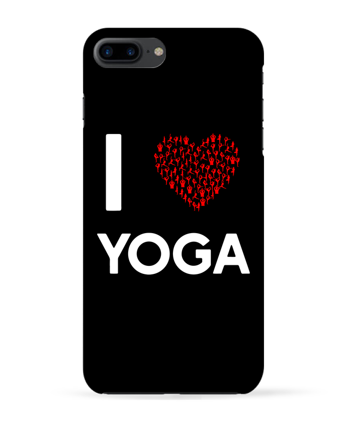 Carcasa Iphone 7+ I Love Yoga por Original t-shirt