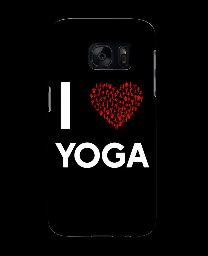 Carcasa Samsung Galaxy S7 I Love Yoga por Original t-shirt