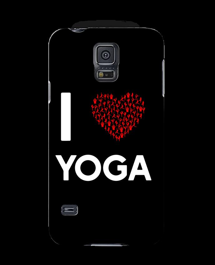 Carcasa Samsung Galaxy S5 I Love Yoga por Original t-shirt