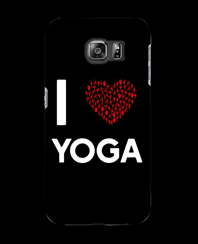 Carcasa Samsung Galaxy S6 I Love Yoga - Original t-shirt